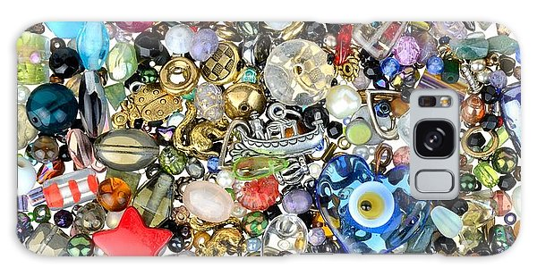 Beads And Charms Galaxy Case