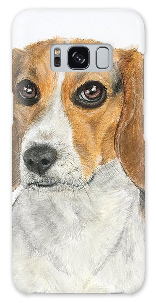 Beagle Painting Galaxy Case
