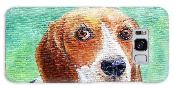 Beagles Rock Galaxy Case by Terry Taylor