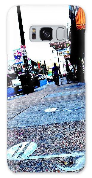 Beale Street Strolling Galaxy Case