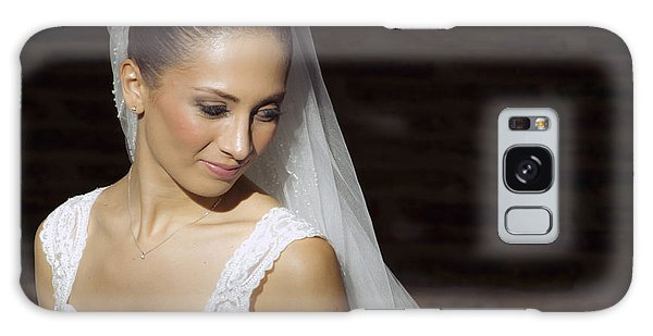 Beaming Bride Galaxy Case