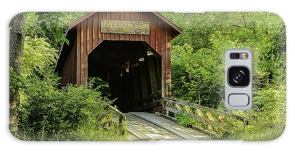 Bean Blossom Covered Bridge Galaxy Case