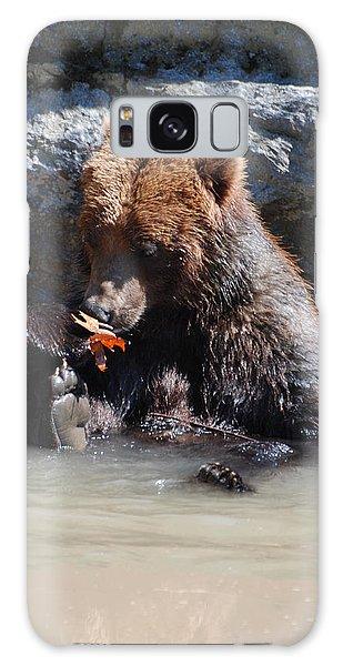 Bear Cub Galaxy Case by DejaVu Designs