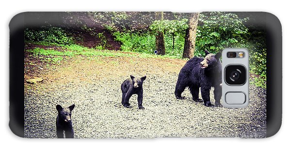 Bear Family Affair Galaxy Case by Jan Dappen