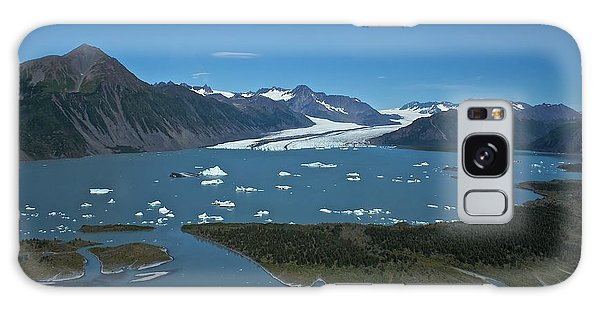 Bear Glacier Seward Alaska Galaxy Case by Michael Rogers