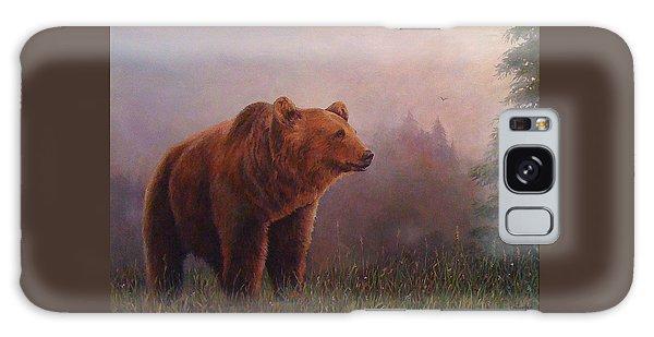 Bear In The Mist Galaxy Case