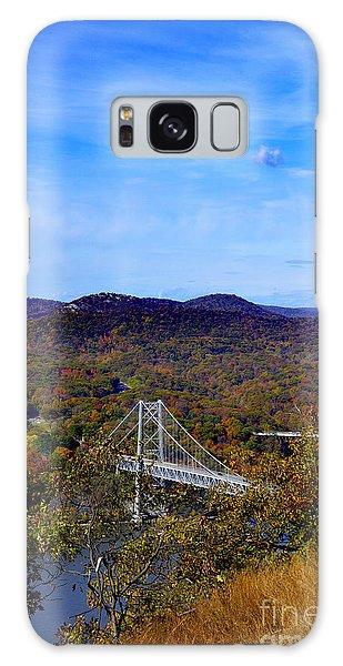 Bear Mountain Bridge From Camp Smith Trail Galaxy Case
