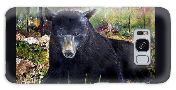 Bear Painting - Blackberry Patch - Wildlife Galaxy Case