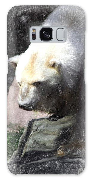 Bear Visions Galaxy Case by Terry Cork