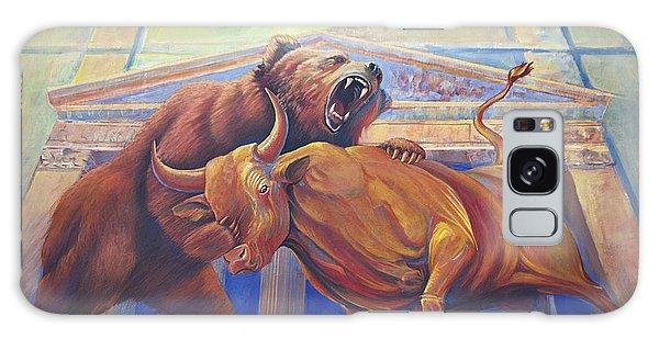 Bear Vs Bull Galaxy Case