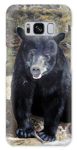 Bear - Wildlife Art - Ursus Americanus Galaxy Case