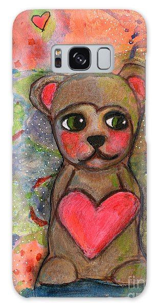 Bear With Me Galaxy Case