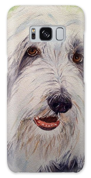 Bearded Collie Galaxy Case