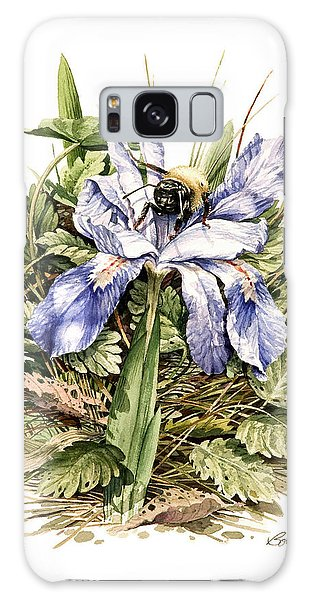 Bearded Dwarf Iris Galaxy Case by Bob  George