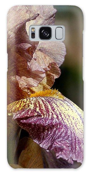 Bearded Iris #1 Galaxy Case