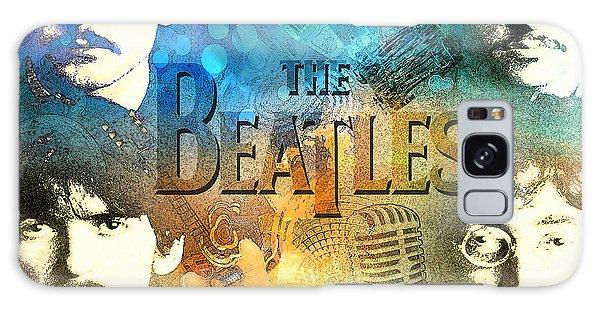 Beatle Montage Galaxy Case
