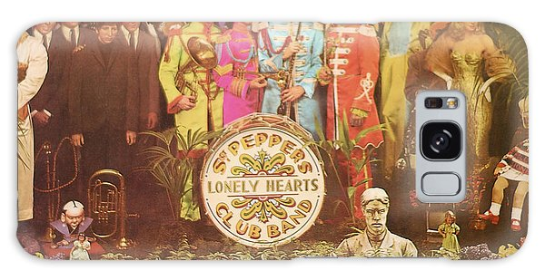 Beatles Lonely Hearts Club Band Galaxy Case