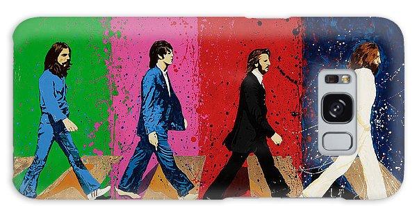 Beatles Crossing Galaxy Case