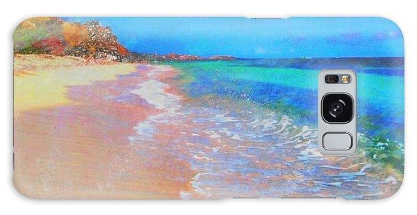 Beauregard Beach - Square Galaxy Case