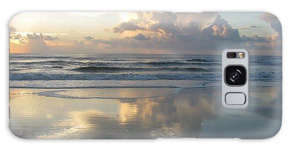 Beautiful Beach Sunrise Galaxy Case by Ellen Meakin
