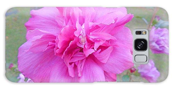 Beautiful Blooming Fuschia Rose Galaxy Case