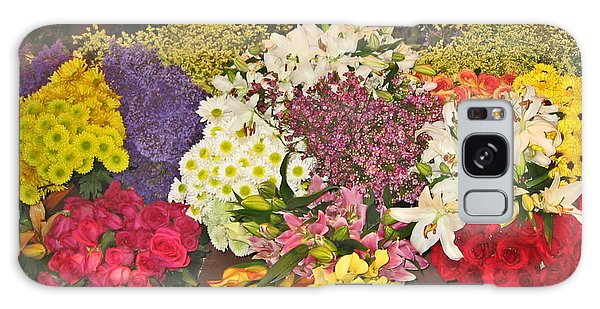 Beautiful Blooms Galaxy Case