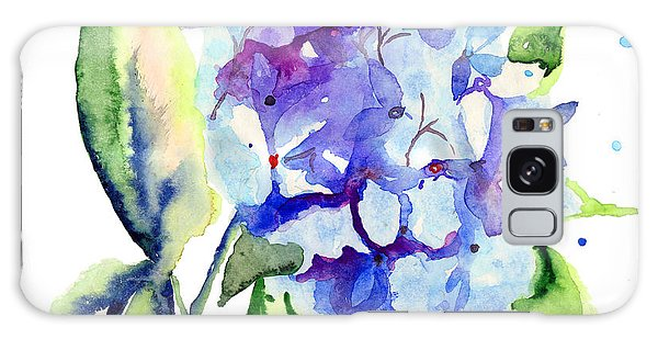 Beautiful Blue Flowers Galaxy Case