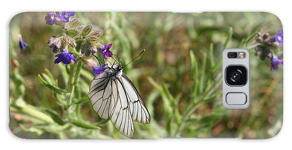 Beautiful Butterfly In Vegetation Galaxy Case