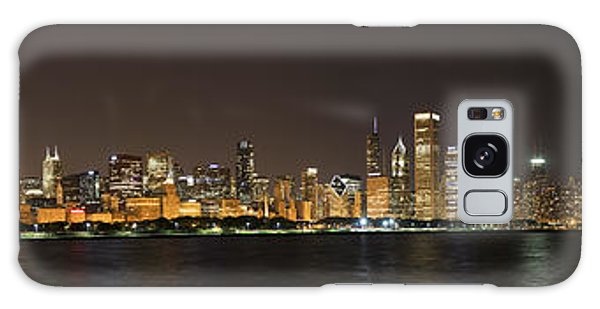 Chicago Art Galaxy Case - Beautiful Chicago Skyline With Fireworks by Adam Romanowicz
