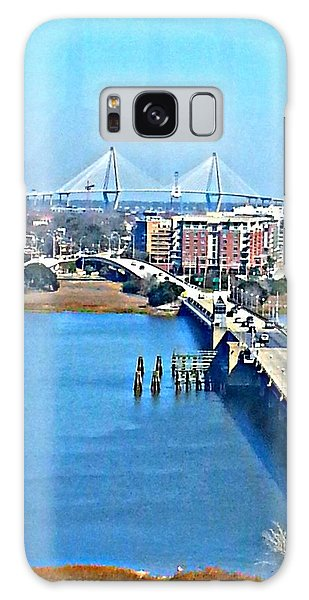 Charleston S C City View Galaxy Case