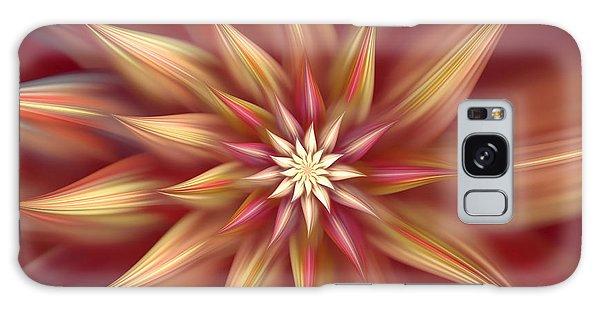 Beautiful Dahlia Abstract Galaxy Case