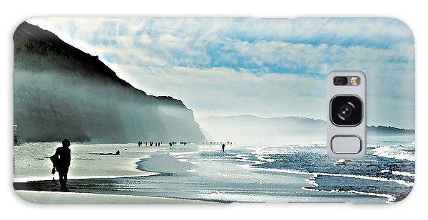 Another Beautiful Day At The Beach Galaxy Case by Sharon Soberon