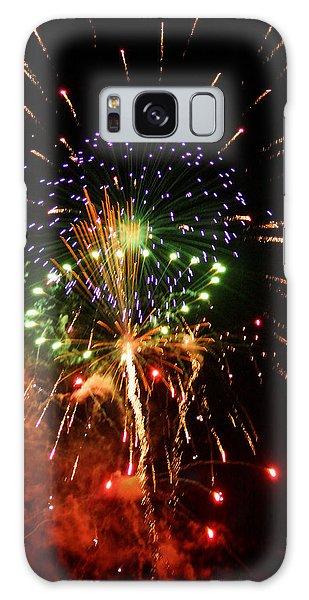 Beautiful Fireworks Works Galaxy Case