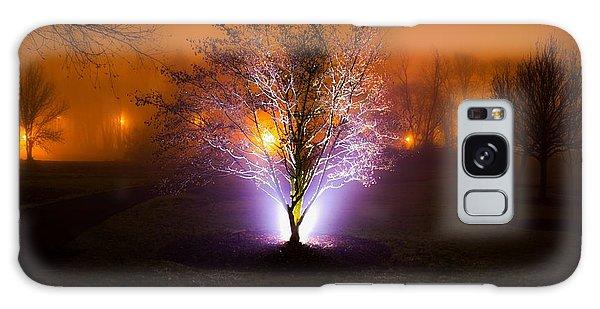 Beautiful Foggy Night 2 Galaxy Case
