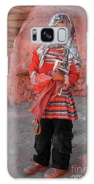 Beautiful Girl At Petra Jordan Galaxy Case