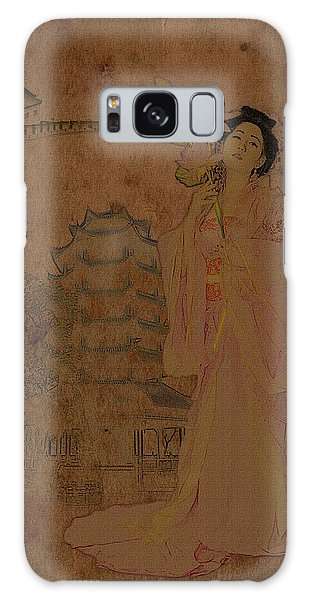 Paper Dress Galaxy Case - Beautiful Imperial Consort Yang Yuhuan by Doug Matthews