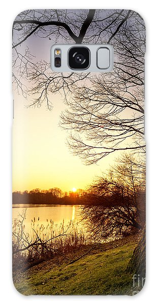 Beautiful Lake Galaxy Case by Daniel Heine