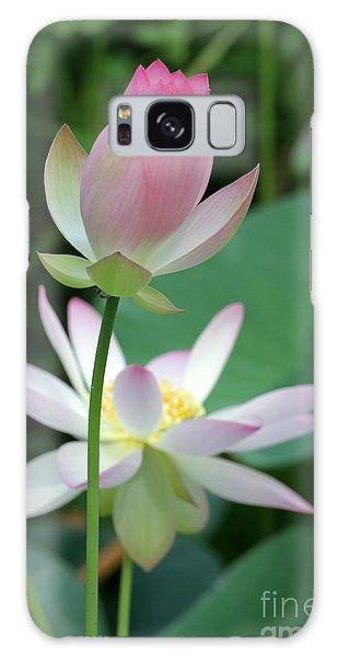 Beautiful Lotus Blooming Galaxy Case