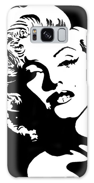 Beautiful Marilyn Monroe Original Acrylic Painting Galaxy Case