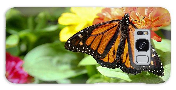 Beautiful Monarch Butterfly Galaxy Case