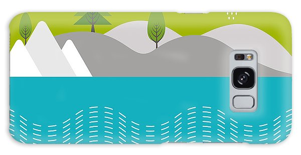 Environments Galaxy Case - Beautiful Nature Background With River by Allies Interactive