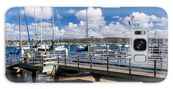 Motor Yacht Galaxy Case - Beautiful Newport Beach by Heidi Smith