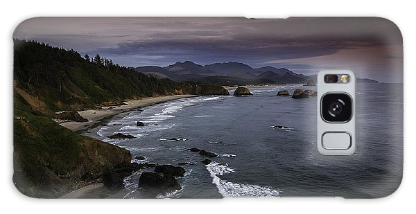 Beautiful Oregon Coast Galaxy Case
