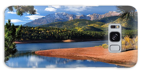 Beautiful Pikes Peak At Crystal  Galaxy Case