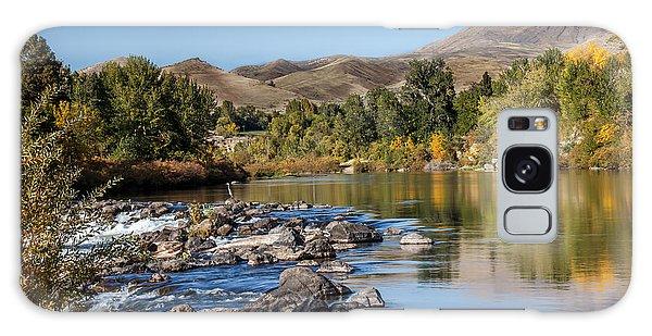 Haybale Galaxy Case - Beautiful River by Robert Bales
