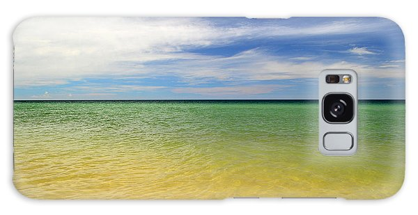 Galaxy Case - Beautiful St George Island Water by Holden Parker
