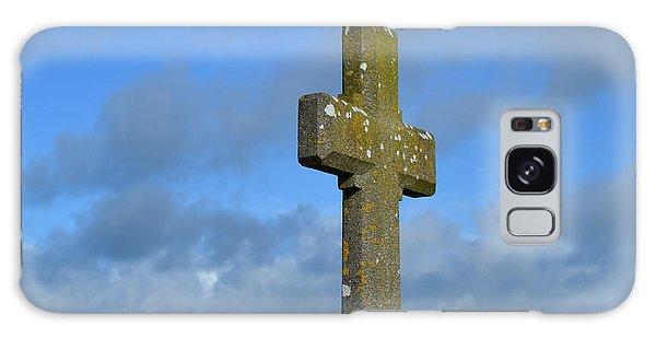 Beautiful Stone Cross In Ireland Galaxy Case