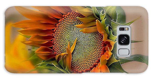 Beautiful Sunflower Galaxy Case by John  Kolenberg