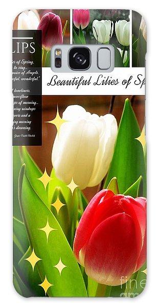 Beautiful Tulip Series 1 Galaxy Case