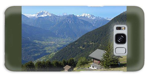 Beautiful View From Riederalp - Swiss Alps Galaxy Case